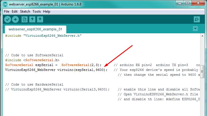 Virtuino Tutorial 03 : ESP8266 Web Server