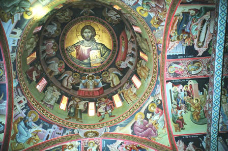 Image result for Monastery of the Great Meteora frescoes