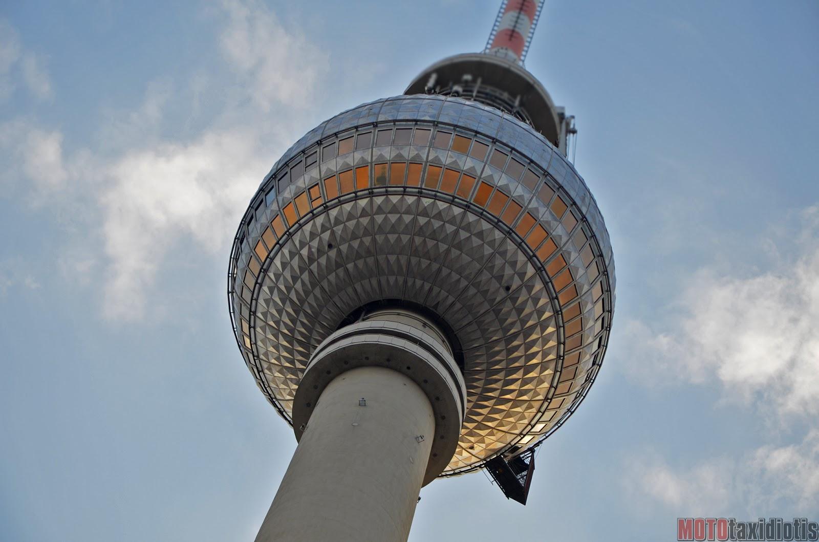 Ο Πύργος Τηλεόρασης του Βερολίνου