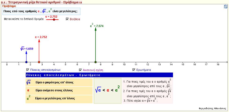 Μέρος Α - Κεφάλαιο 2 - Παράγραφος 2.1 - Πρόβλημα 11
