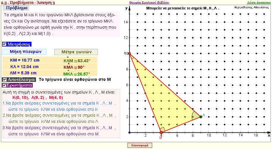 Μέρος Α - Κεφάλαιο 2 - Παράγραφος 2.3 - Πρόβλημα 3α