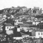 Η Ακρόπολη το 1930.