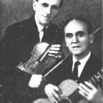 Ο Μήτσος Μαγνήσαλης και ο Μήτσος Ατραίδης.