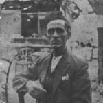 Ο Δ. Ατραίδης όταν έφτασε στην Ελλάδα το 1923.