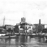 Ο Πειραιάς γύρω στα 1900 - φαίνεται και το Ρολόι.