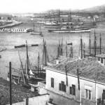 Πανοραμική άποψη του λιμανιού του Πειραιά.
