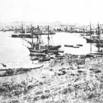 Ο Πειραιάς γύρω στα 1900.