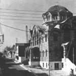 Ο Ναός του Αγίου Νείλου το 1975 (στα χρόνια της ακμής του ρεμπέτικου ο Αγιος Νείλος ήτανε μια παράγκα).