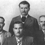 Απο τ'αριστερά: Γιάννης Δραγάτσης, Μήτσος Μπενέτας, Ρέλιας.