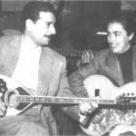Ο Γενίτσαρης με τη Σωτηρία Μπέλλου το 1948.