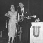 Ο Καπλάνης με τη Μαρίκα Νίνου.