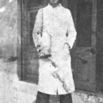 Ο Κ.Καπλάνης όταν ήταν ακόμα κουρέας, πριν γίνει μπουζουξής.