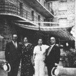 Ο Κασιμάτης και ο Αραπάκης με τις γυναίκες τους.