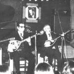 Από αριστερά: Κερομύτης, Γενίτσαρης, Μπαγιαντέρας και Καλφόπουλος.
