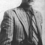 Ο Νίκος Μάθεσης γύρω στα 1933.