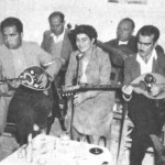 Πρώτος δεξιά ο Μουφλουζέλης (Μυτιλίνη, 1952).