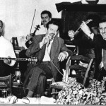 Γιάννης Παπαϊωάννου με Βασίλη Τσιτσάνη.