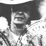 Η Ευτυχία Παπαγιαννοπούλου το 1945.