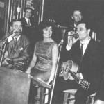 Ο Αντώνης Ρεπάνης με τη Μαρινέλα και τον Καζαντζίδη.