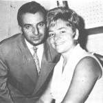 Ο Αντώνης Ρεπάνης με τη Μαίρη Λίντα.