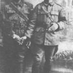 Στη Ξάνθη το 1925. Δεξιά ο Κώστας Ρούκουνας.
