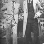 Ο Λάμπρος ο λυρατζής με τον Κώστα απ'τη Γραβιά (1938).