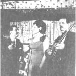 Αντώνης Ρεπάνης, Φούλη Δημητρίου, Βασίλης Τσιτσάνης.