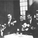 Χρυσίνης, Χρυσάφης, Τσαουσάκης το 1950.