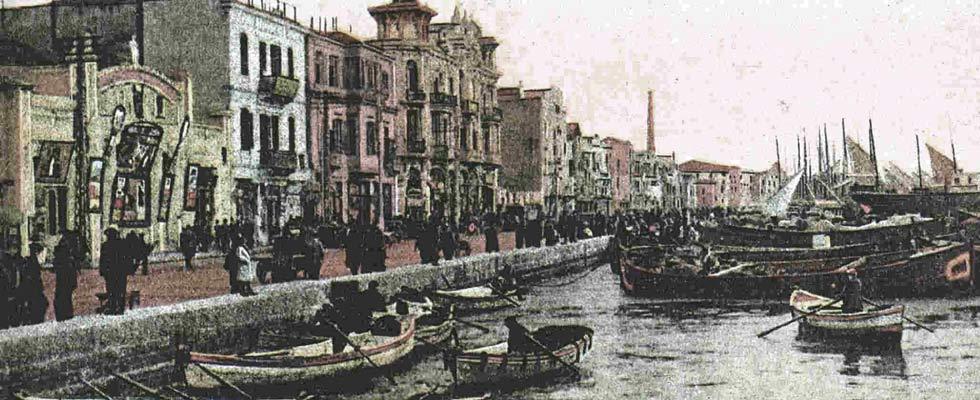 Θεσσαλονίκη – παραλία – 1916