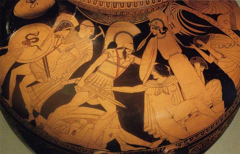 Αρχαϊκή Αγγειογραφία, Ζωγράφος του Κλεοφράδη