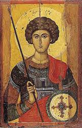 Αγιος Γέωργιος, 14ος αιω.