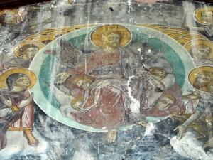 Βυζαντινή αγιογραφία, Ιησούς, Άρτα, Κάτω παναγιά