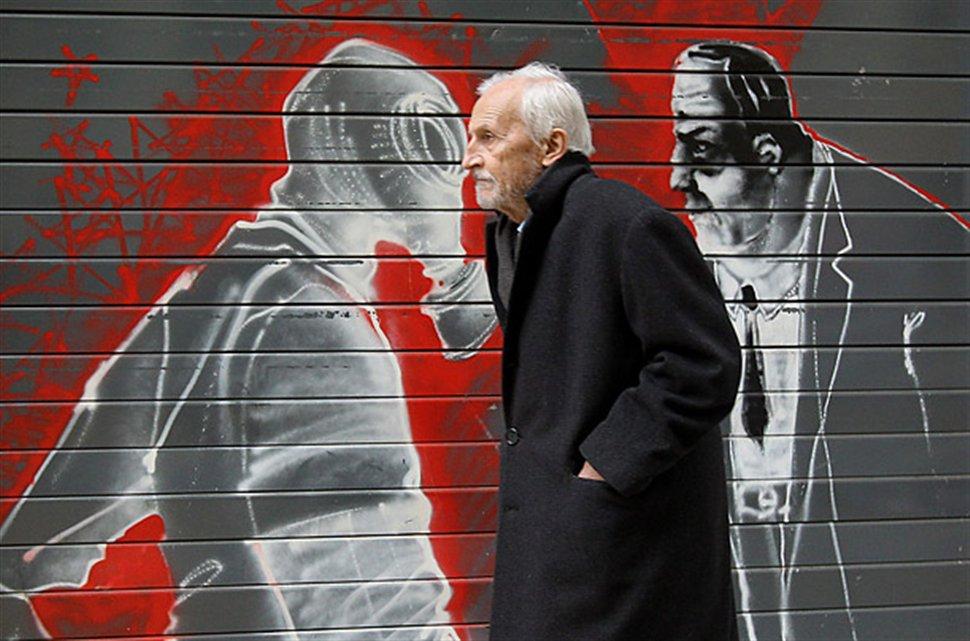 γκραφιτι απο Ελλάδα στο Time