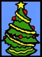Χριστουγεννιάτικα στένσιλ με σελοφάν