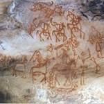 Οι βραχογραφίες στα σπήλαια της Bhimbetka