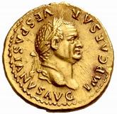 Βεσπασιανός, Ρωμαϊκό νόμισμα