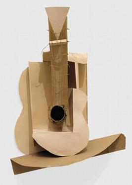 κιθάρα απο χαρτόνι, Πικάσο