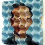 η Τέχνη του Enno de Kroon σε χάρτινες αυγοθήκες