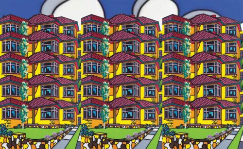 Howard Arkley_Australian-Home