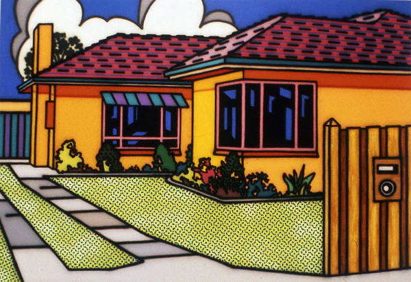 Howard Arkley_Australian-Home1993