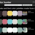 Ανάλυση εικόνας σε χρωματικές παλέτες