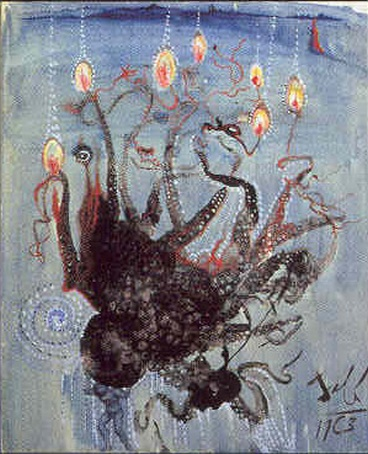 Pulpo, offset, Dali 1963