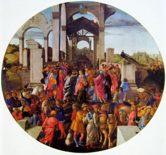 Η Προσκύνηση των Μάγων,Botticelli