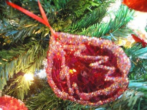 Χριστουγεννιάτικο διακοσμητικό με θερμοσιλικόνη
