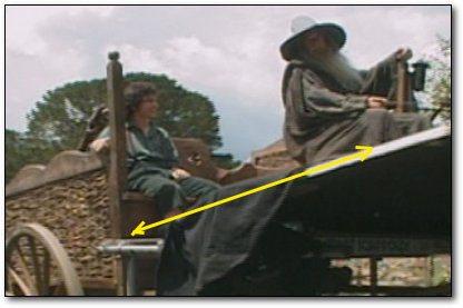 frod-gandalf, ανάλυση της ψευδαίσθησης