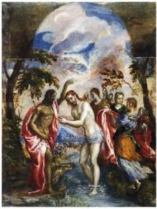 Βάπτιση, Ελ Γρέκο