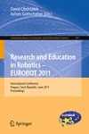 Research and Education in Robotics - EUROBOT 2011 Research and Education in Robotics - EUROBOT 2011