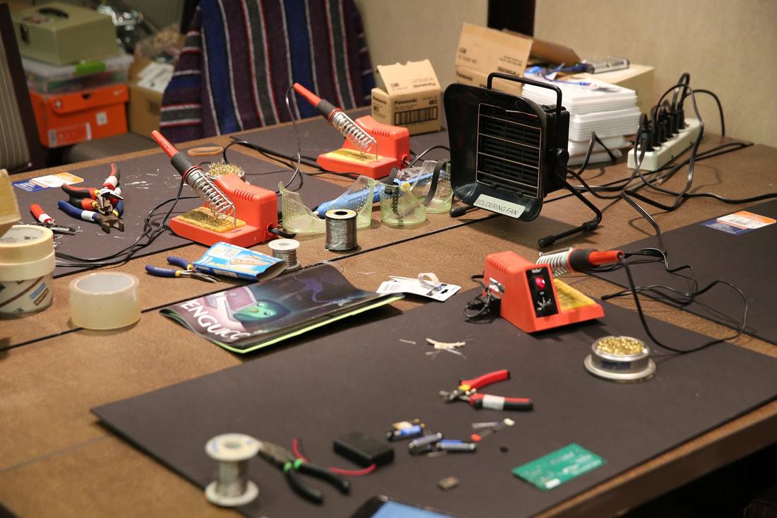 Το εργαστήριο ηλεκτρονικών μετρήσεων