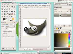 Gimp-gnome-2.2.8