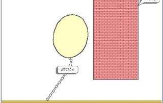 Μπαλόνι και Τοίχος